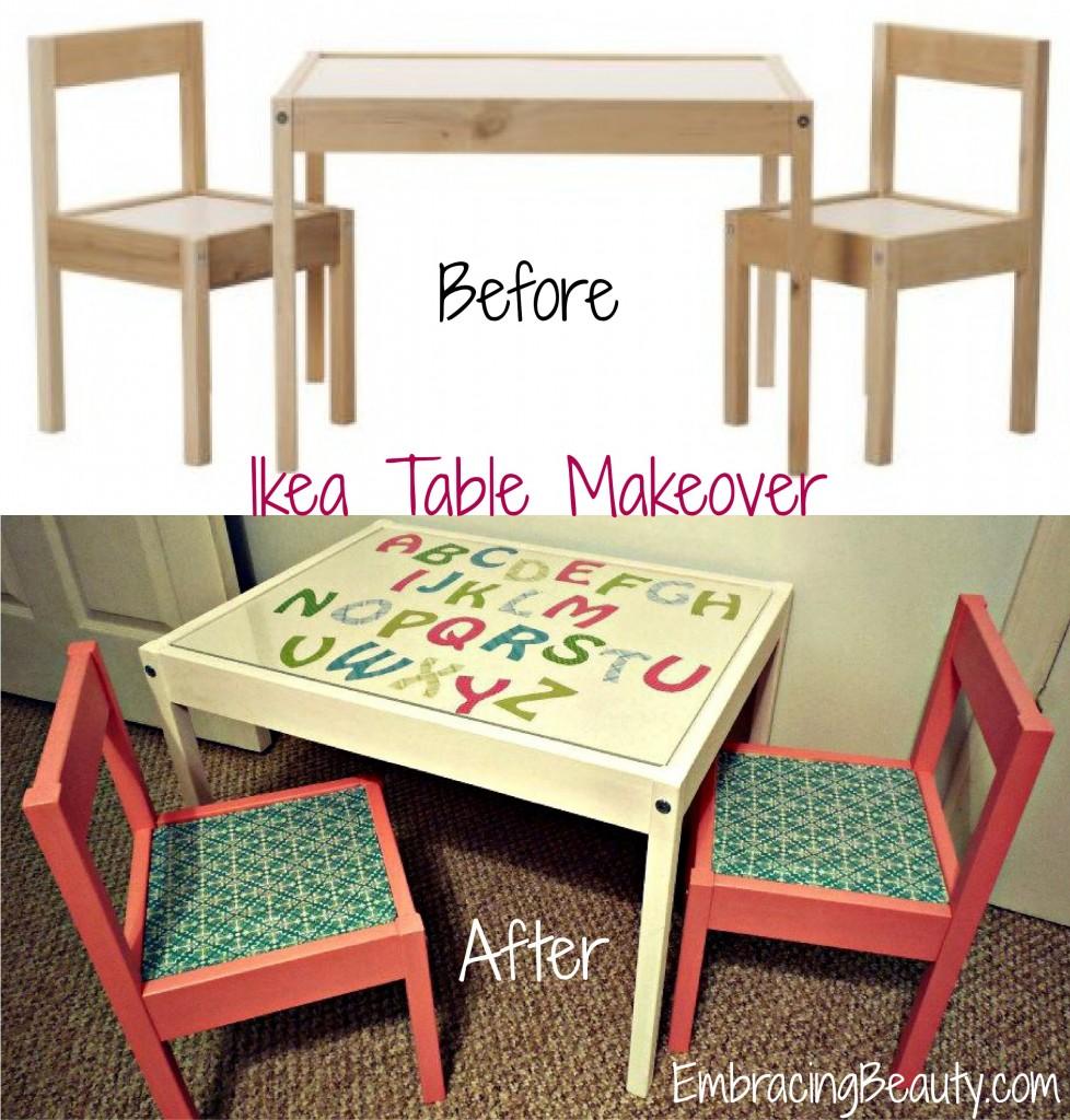Ikea Table Makeover Ikea Hack